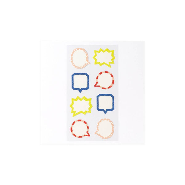 Iroha Toy Album Decoration Sticker - Fukidashi