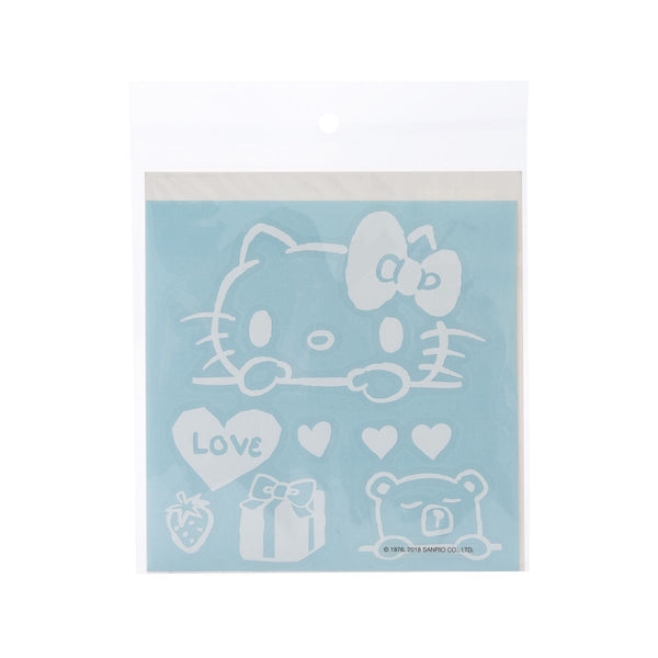 Sanrio Hello Kitty Window Art Sticker B