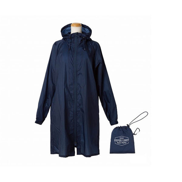 because SUPERLIGHT Rain Parka-Navy - Discontinued