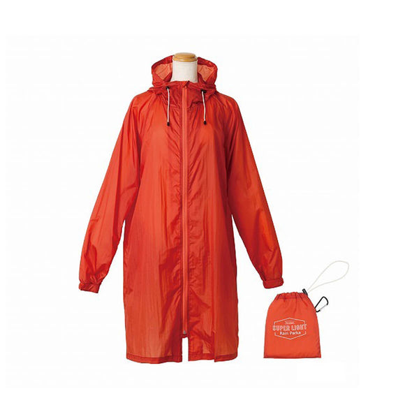 because SUPERLIGHT Rain Parka-Red