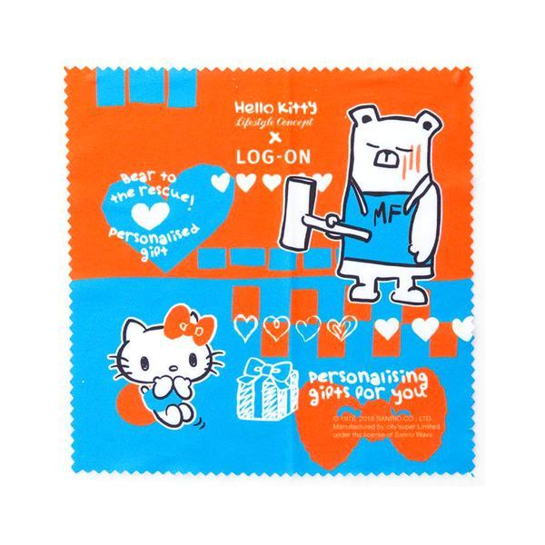 KITTY LENS CLEANING CLOTH-MF BEAR