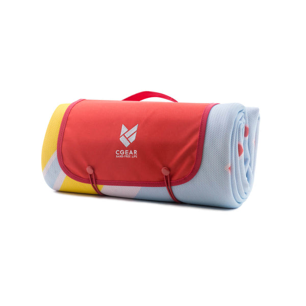 Cgear Sand-Lite Sand-free Mat (M) - Red Lobster