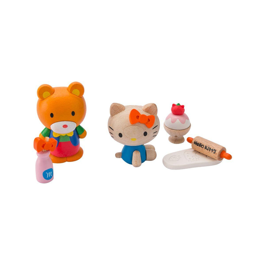 Wooderful Hello Kitty & Tippy DIY Figure Set