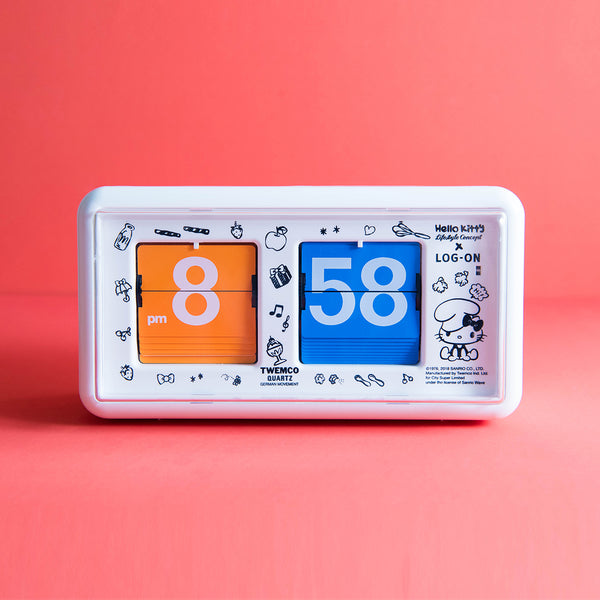 TWEMCO Flip Clock QT-30 (Hello Kitty Special Edition)