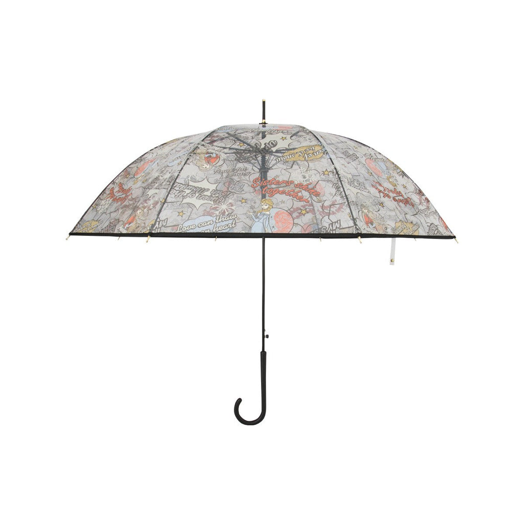 Disney Transparent  Stick Umbrella-Frozen