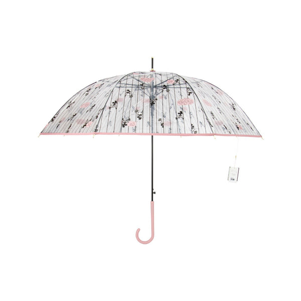 Disney Transparent  Stick Umbrella-Mickey & Minnie