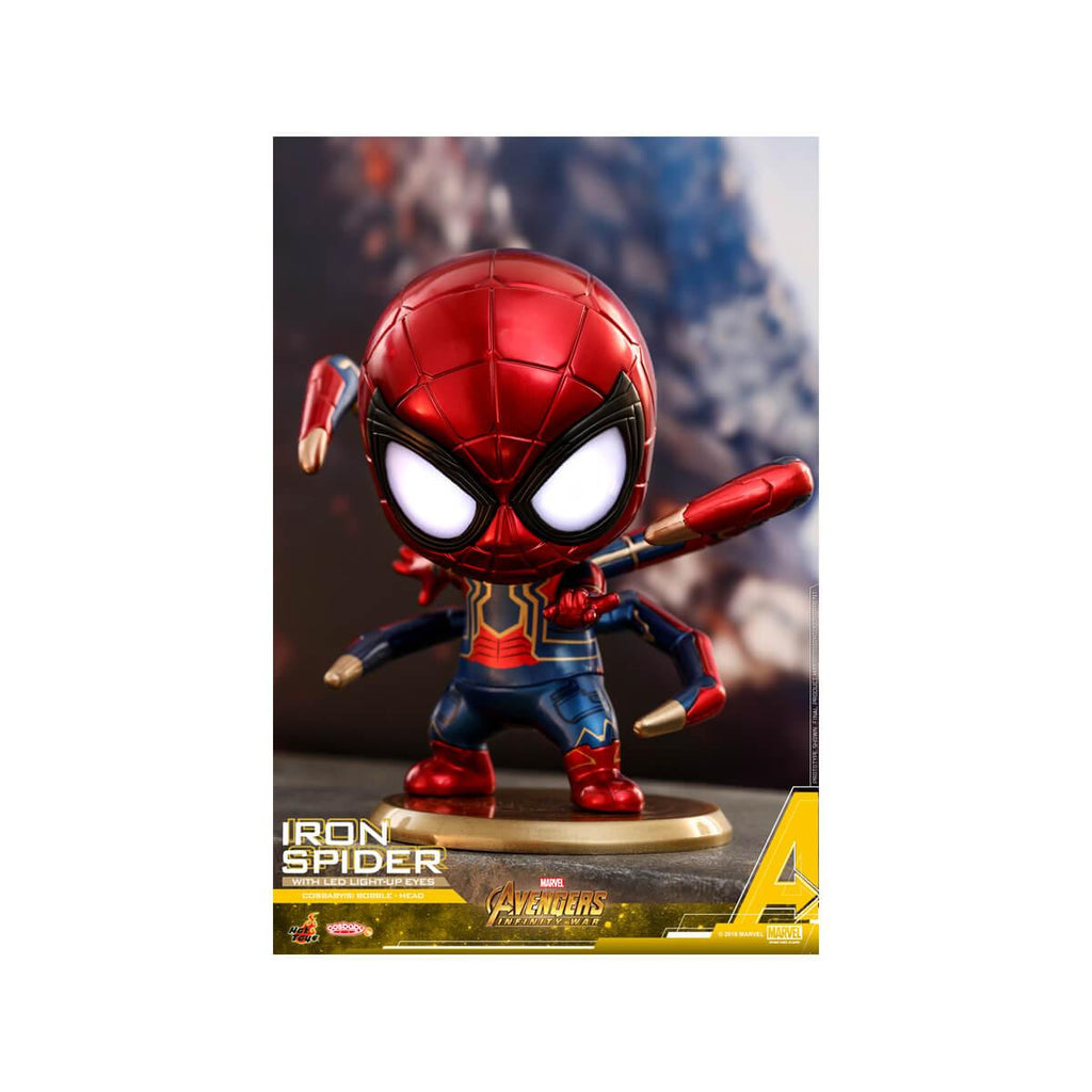 Hot Toy Iron Spider Cosbaby (S) Bobble-Head