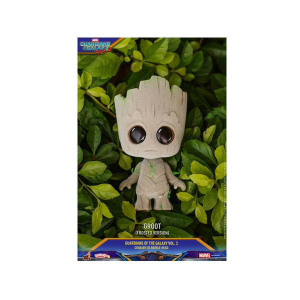 Hot Toy Groot (Frosted Version) Cosbaby (S) Bobble-Head