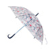 Evereon Transparent   Stick Umbrella-Okada Series-Navy