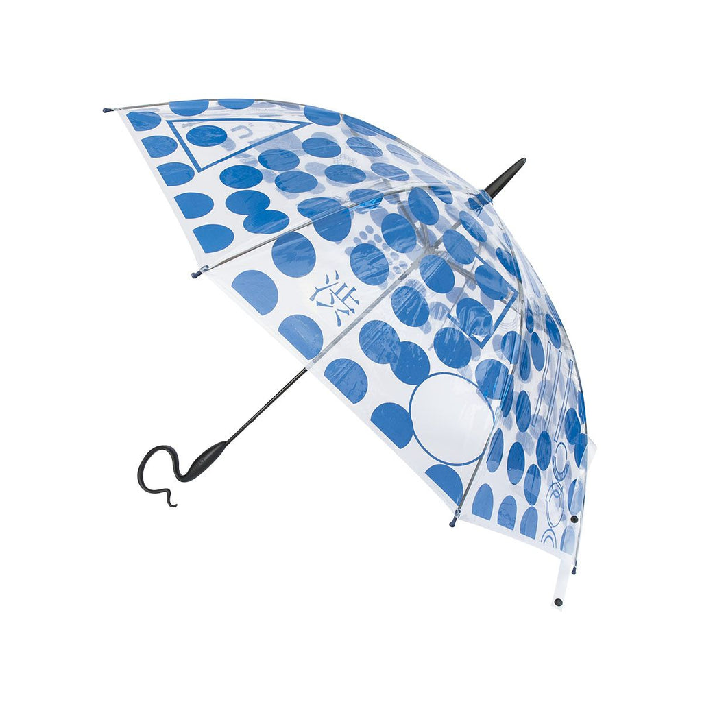 Evereon Transparent Stick Umbrella-Tetsuya Series-Geometric