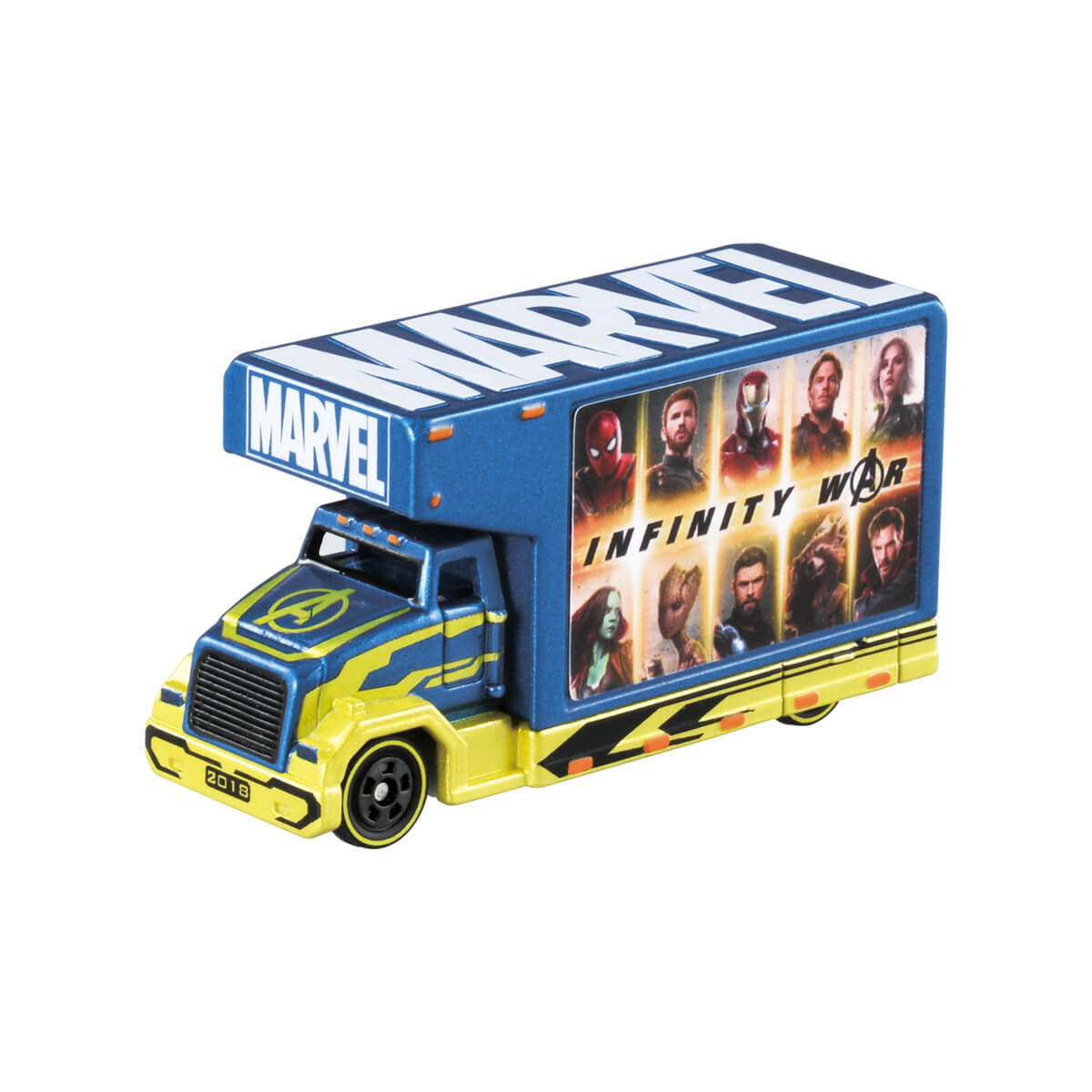 Tomica Ds Marvel Tune Mov 3.2 Ad Truck ...
