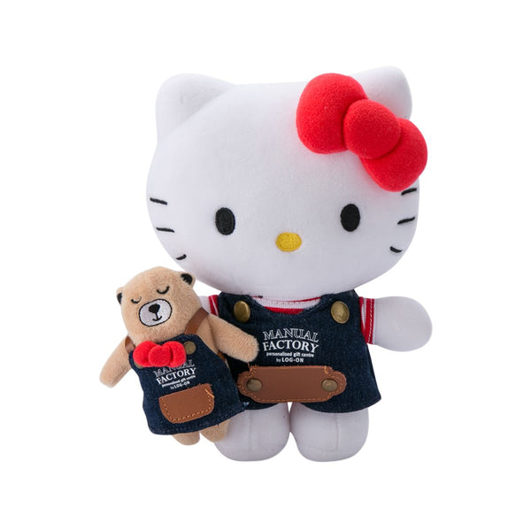 Sanrio Hello Kitty X MANUAL FACTORY Bear Plush