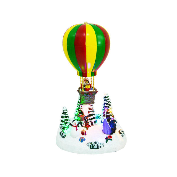 LED HOT BALLOON H27.5CM - Battery operated