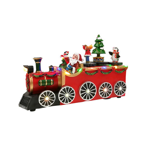 TRAIN with LED H15.5CM  - Battery operated