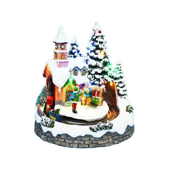 LED CASTLE with KIDS - Battery operated