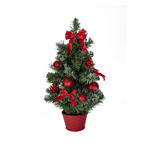 Table Top Tree (10 Red LED)  H50CM