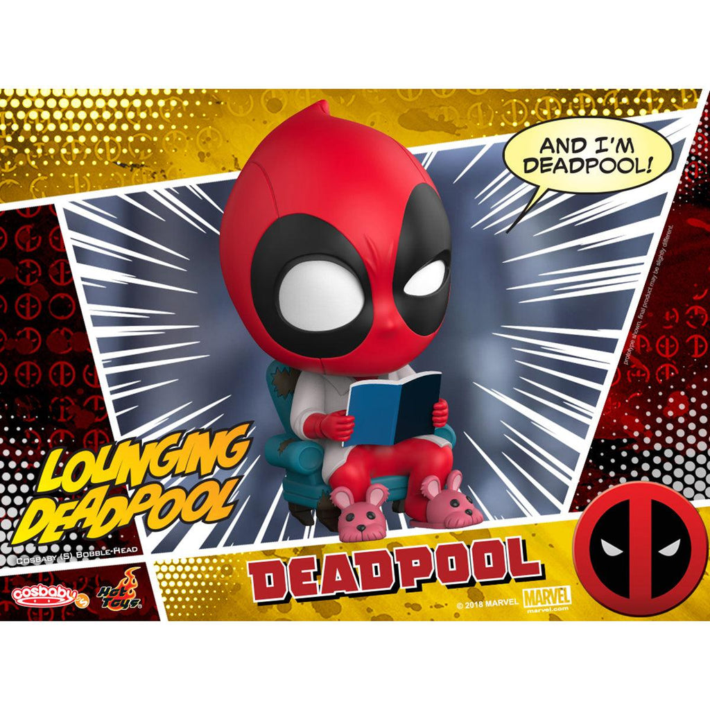 Hot Toys Lounging Deadpool COSBABY (S) Bobble-Head