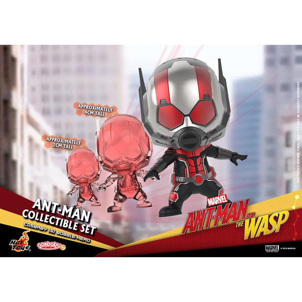Hot Toys Ant-Man COSBABY (S) Bobble-Head Collectible Set