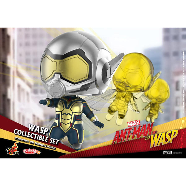 """HOT TOYS 《Ant-Man and the Wasp》 Wasp COSBABY (S) Bobble-Head Collectible Set"""