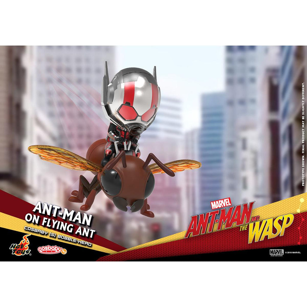 Hot Toys Ant-Man on Flying Ant COSBABY (S) Bobble-Head Collectible Set