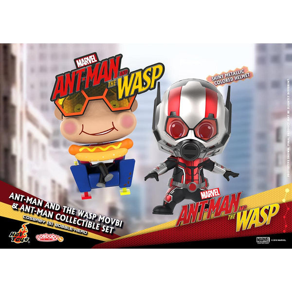 HOT TOYS 《Ant-Man and the Wasp》Ant-Man and the Wasp Movbi & Ant-Man COSBABY (S) Bobble-Head Collectible Set