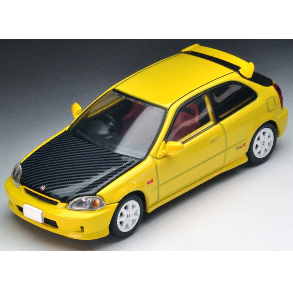 Tomytec Honda Civic Type R EK9 Hong Kong Limited Edition - Yellow