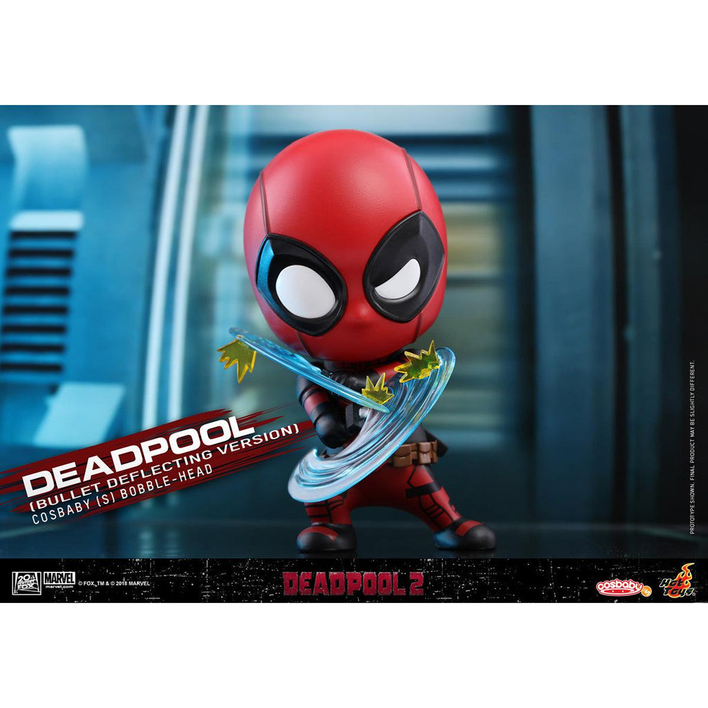 Hot Toys Deadpool (Bullet Deflecting Version) COSBABY (S) Bobble-Head