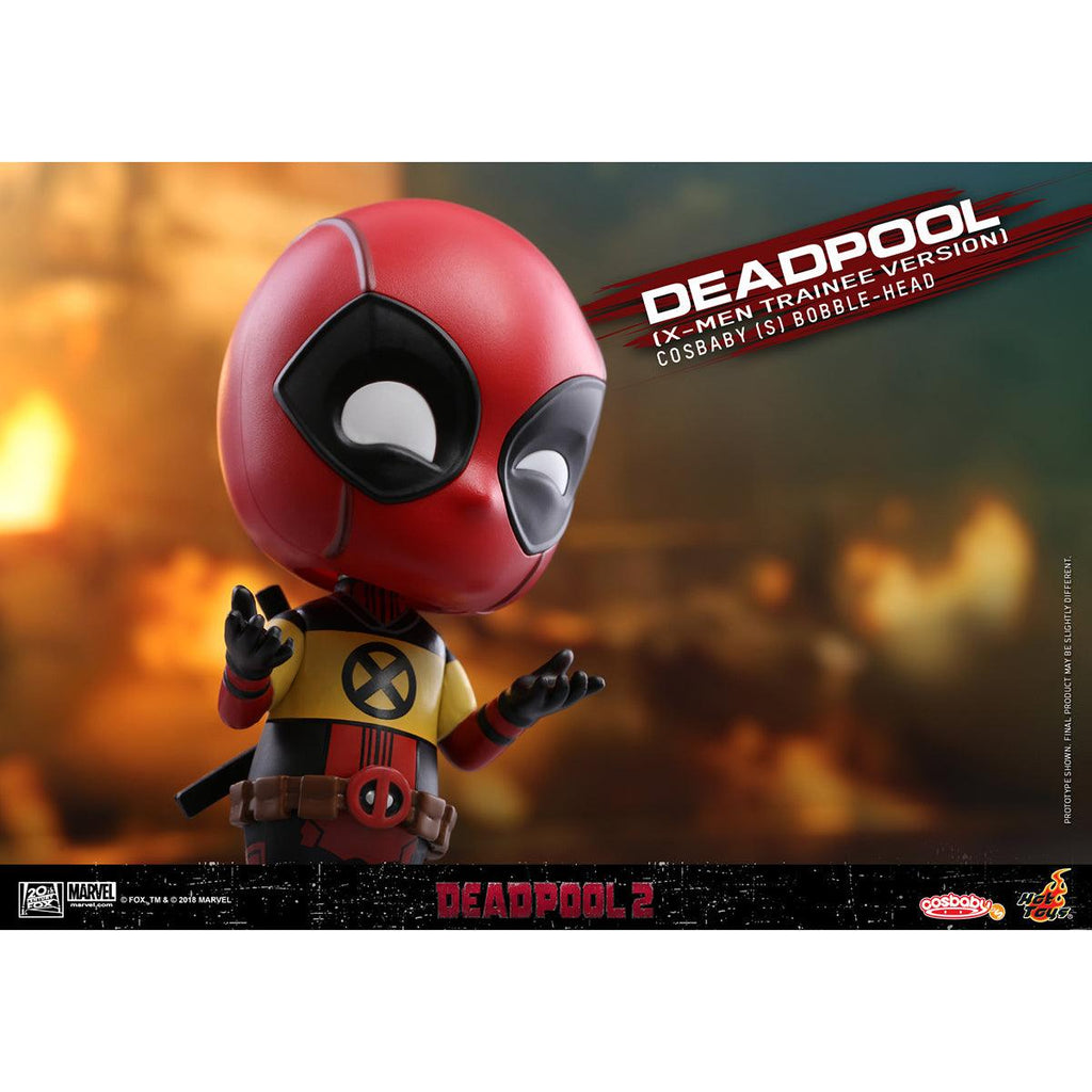 Hot Toys Deadpool (X-Men Trainee Version) COSBABY (S) Bobble-Head