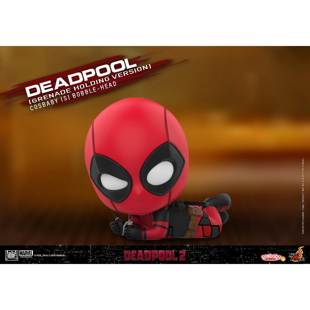 Hot Toys Deadpool (Grenade Holding Version) COSBABY (S) Bobble-Head
