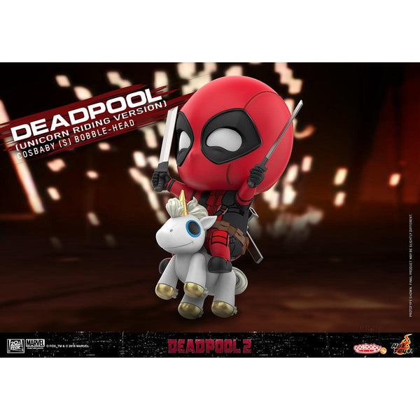 Hot Toys Deadpool (Unicorn Riding Version) COSBABY (S) Bobble-Head