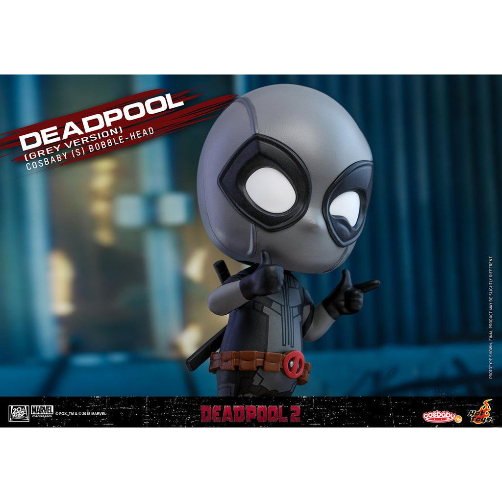 HOT TOYS Deadpool (Grey Version) COSBABY (S) Bobble-Head