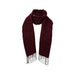 Finissage Plain Muffler-WINE