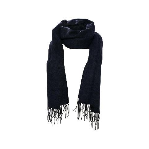 Finissage Plain Muffler-NAVY