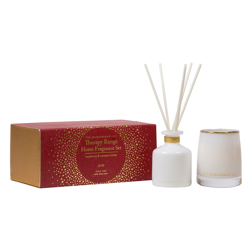 Therapy Range RASPBERRY CARAMEL CRÈME FRAGRANCE SET