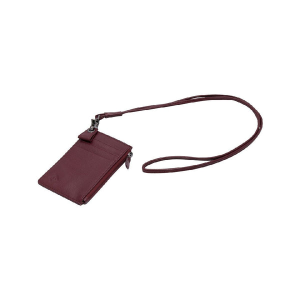 Samuel Ashley X Log-On Crossover Edition Cody  Badge Holder-Burgundy