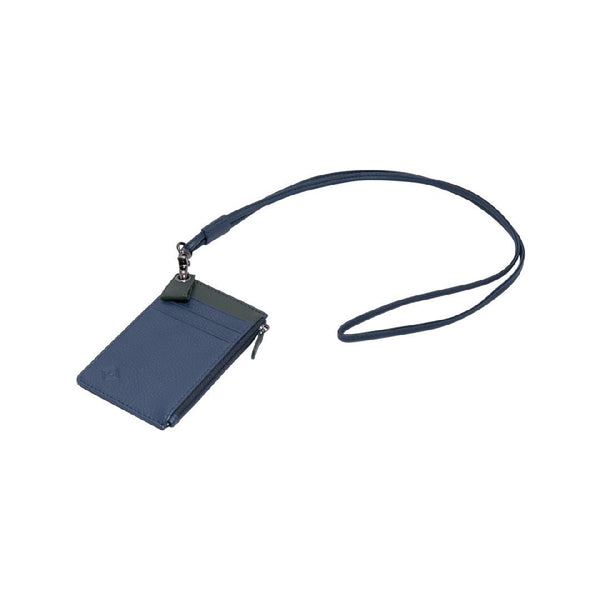 Samuel Ashley X Log-On Crossover Edition Cody Badge Holder-Navy/Dark Green