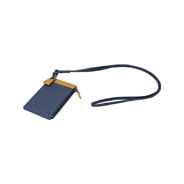 Samuel Ashley X Log-On Crossover Edition Cody Badge Holder-Navy/Mustard