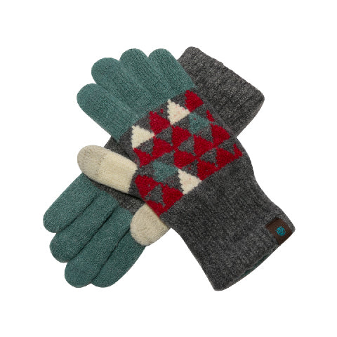 Tehtävä+ Regular Touch Gloves-RED TRIANGLE
