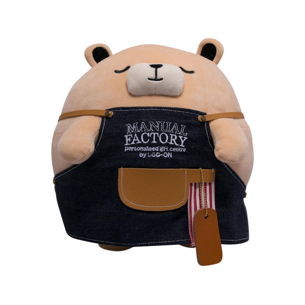 Manual Factory Bear Round Plush (L)