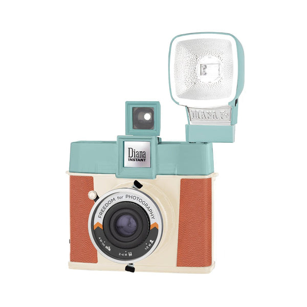 Lomography - The Diana Instant Square Camera Flash Freedom