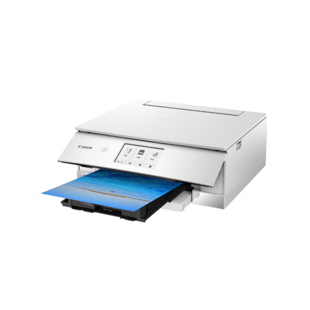 CANON Pixma TS8270 Compact All-in-One Printers (White)