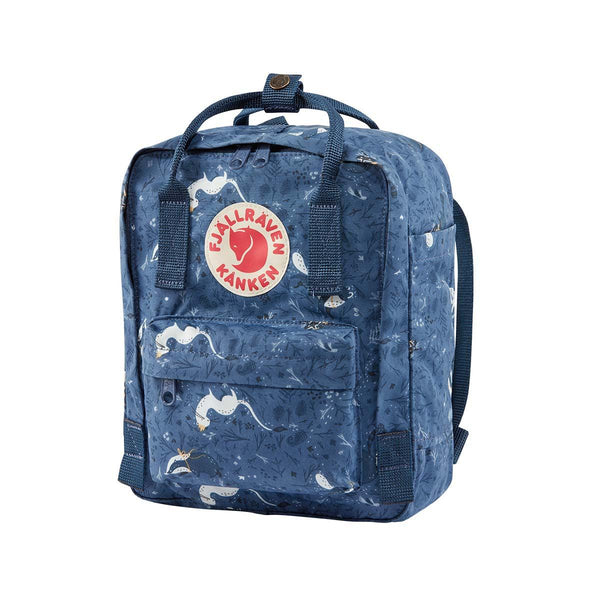 Fjallraven KÅNKEN ART Mini Backpack - Blue Fable