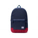 HERSCHEL Packable Daypack-Navy/Red