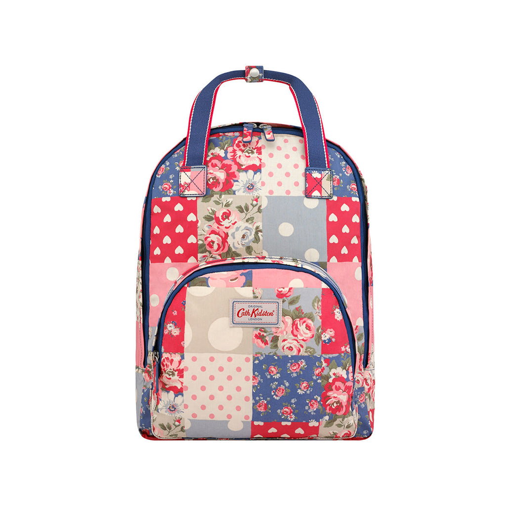 Cath Kidston Multi Pocket Backpack - Patchwork Denim