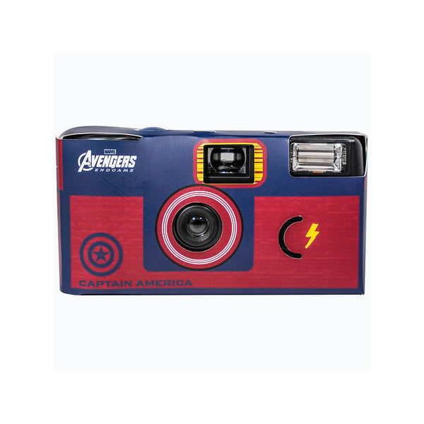 Wealth Trend Avengers 4 Single Use Film Camera(Blue)