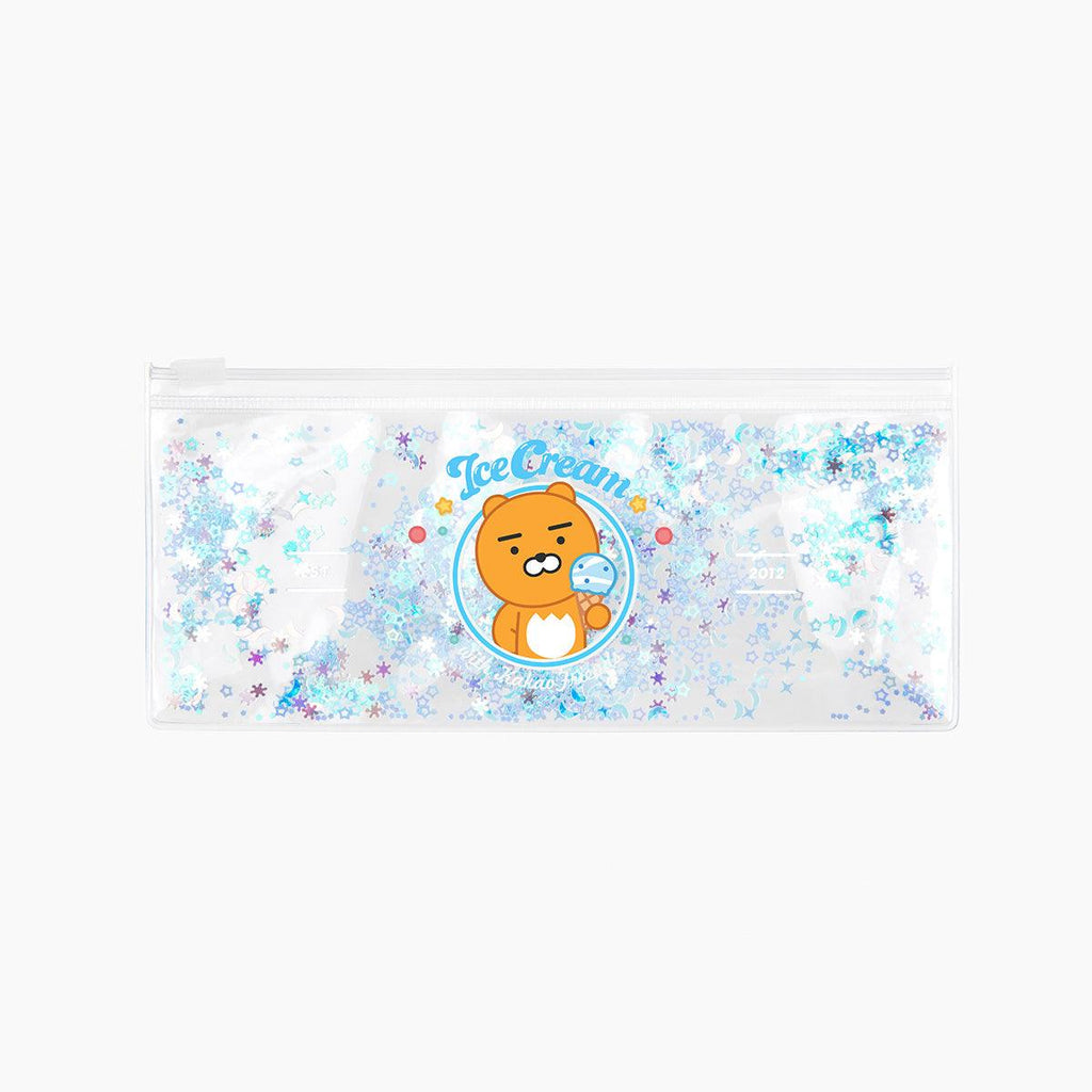 KAKAO FRIENDS SLIM CLEAR POUCH-RYAN