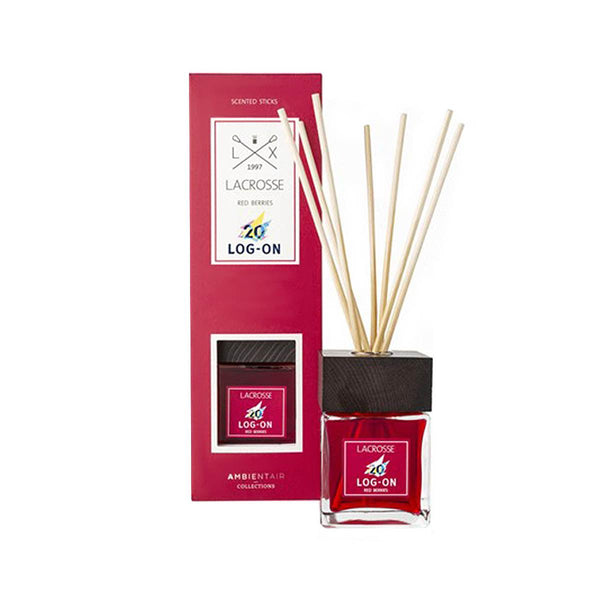 LACROSSE LOG-ON 20th Anniv Diffuser – Red berries