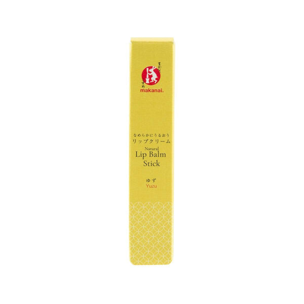 MAKANAI Natural Lip Balm Stick (Yuzu)  (2.5g)