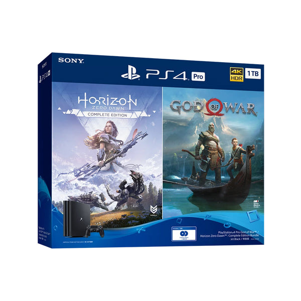 PlayStation®4 Pro God of War™ / Horizon Zero Dawn™:Complete Edition Bundle