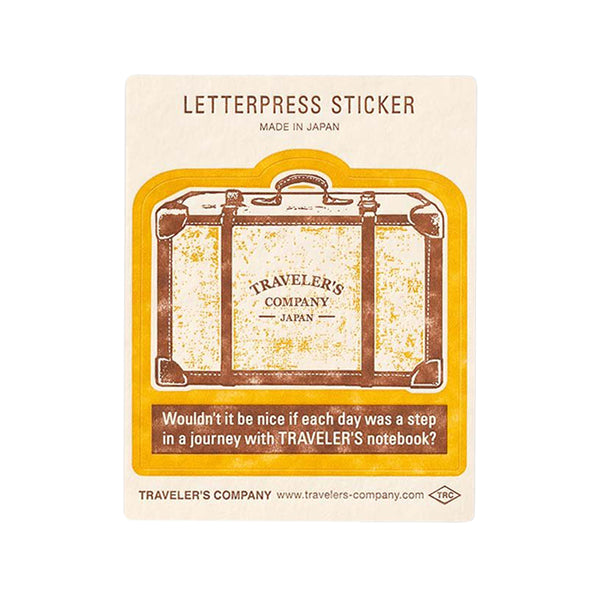 TN Letterpress Sticker - Trunk